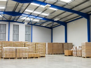 Pallets in warehouse - Furniture Storage